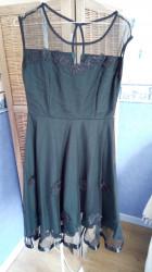 robe cérémonie verte