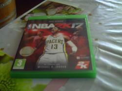 Jeu NBA2K17 pour console XBOX ONE