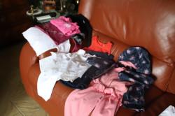 lot de vêtements fille mi saison-été 18mois