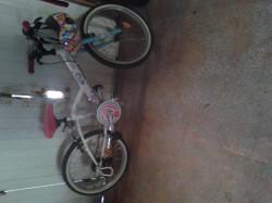 Vélo enfant blanc 5-8 ans