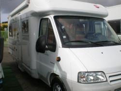 Donne camping car burstner T645 Marano