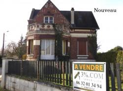 Maison bourgeoise, axe Chauny-Noyon