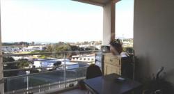 AJACCIO - T2  47m² + terrasse vue mer