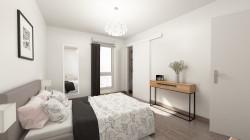 Appartement duplex 3 pièces dans un cadre agréable - 26321