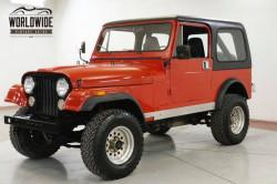 Jeep CJ 4x4 1985 prix tout compris