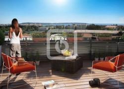 Agréable appartement 3 pièces avec piscine en rez-de-jardin