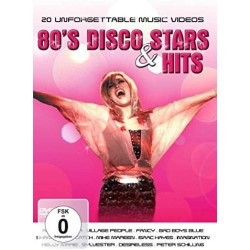Various Artists - 80's Disco Stars And Hits [Dvd]