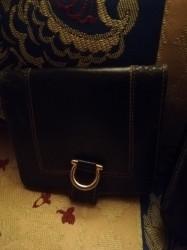 Porte Monnaie En Cuir Noir Lancel Vintage