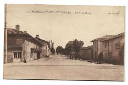 CPA - La Madeleine-Replonges (01) - Route De Bourg