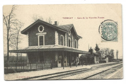 CPA - TOSSIAT (01) - Gare de La Vavrette-Tossiat