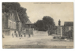 CPA - Nogent-L'artaud (02) - Place Du Souvenir