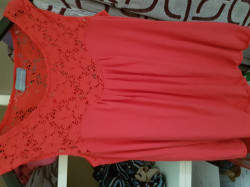 Haut corail taille 40