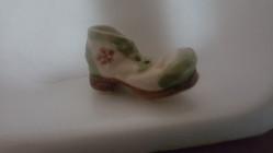 Soulier porcelaine miniature