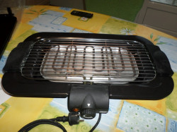 Barbecue d'intérieur et plancha