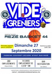 Vide-greniers de rentrée du Rezé Basket 44