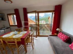 Appartement T2 en station de ski,le super Devouy