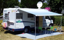 VEND CAMPING CAR  PROFILE  CHAUSSON . FIAT  1.9 TD. ANNEE 2000 .