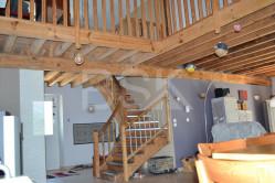 Maison en pierre de 193 m² habitables sur un terrain de 850 m² 4 chambres