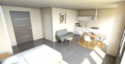 Appartement-Studio- Déficit foncier