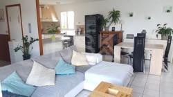 Maison T6 120 m² avec grand garage , atelier et terrasse + vue Pyrénées