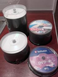 Lot de DVD+R Vierges