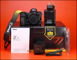 Nikon Z7 compacts Full Frame Camera Body + batterie/chargeur & box 1,116 coups