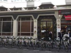 8-10 rue Saint-Marc à Paris 2ème (M° Bourse ou Grands Boulevards), 15m2 à usage de réserve en 1er sous-sol, en parfait état, très accessibles