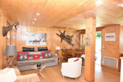 Megève – Magnifique triplex T5 – avec jardin et garage