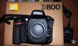Nikon D800 36.3 MP Noir Appareil Photo Reflex Numérique