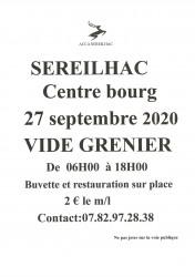 VIDE GRENIER ACCA SEREILHAC