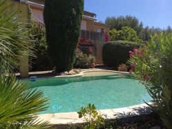 BANDOL Très belle villa Provençale Vue mer de 177 m² avec piscin