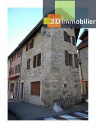A VENDRE MAISON DE VILLAGE EN PIERRE (CHAMPAGNE-EN-VALROMEY 01260) D'ENVIRON 90m2