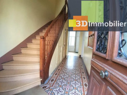 LONS-LE-SAUNIER (39 JURA), à vendre appartement hyper-centre, rez-de-chaussée, 4 pièces, 82m², calme