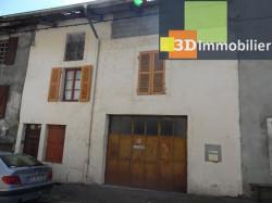 Secteur VIRIEU LE GRAND (01, Ain), à vendre maison de ville de 6 pièces à rénover