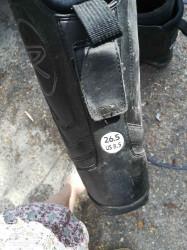 bottes de snow taille 26.5 taille 40