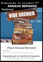 Vide Greniers Arnaud Bernard