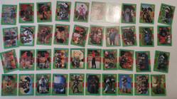 Lot complet de cartes Power Rangers