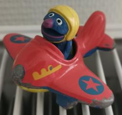 Figurine Sesame Street Grover
