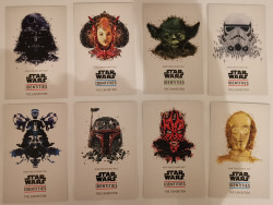 Cartes postales Star Wars Identities