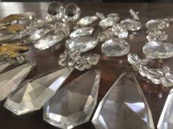 Pampilles en verre et accessoires