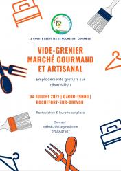 Vide-Grenier-Marché Gourmand-Marché Artisanal