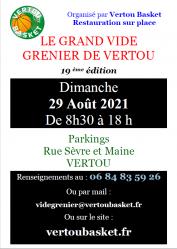 LE GRAND VIDE GRENIER DE VERTOU (19ème Edition)