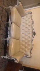 Ensemble canapé et deux fauteuils
