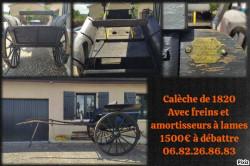 Calèche 1820