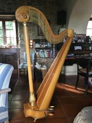 Harpe à pédale Salvi modèle Angelica 40 occasion