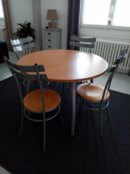 TABLE RONDE 4 PLACES