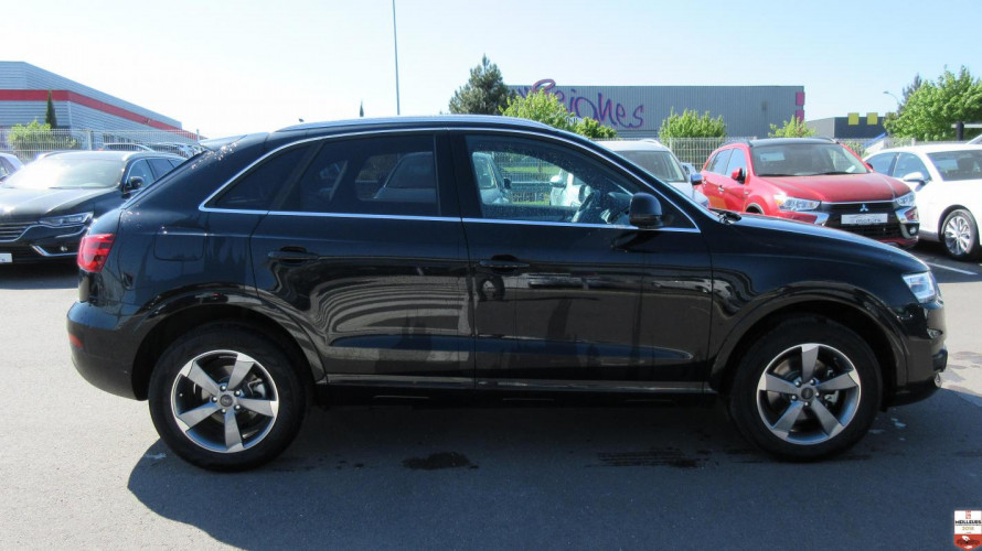 audi q3 ambition luxe tdi 177 s tronic quattro. Black Bedroom Furniture Sets. Home Design Ideas