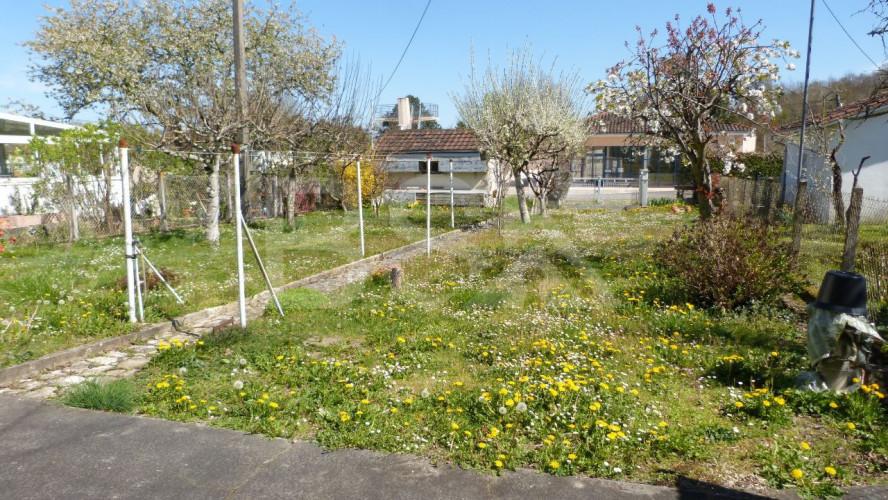 maison de ville garage jardin