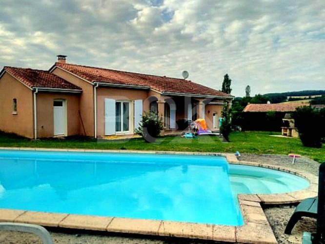 villa 127m2 4 chambres piscine