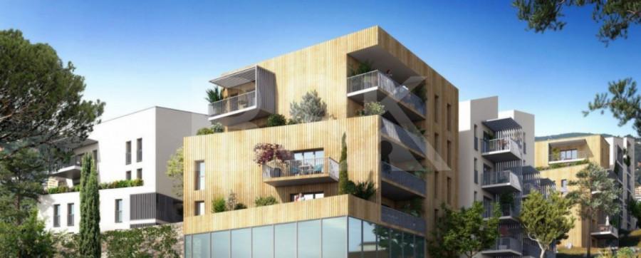 AJACCIO - T2 de 44 m2 + Terrasse de 8 m2 + Jardin de 15 m2
